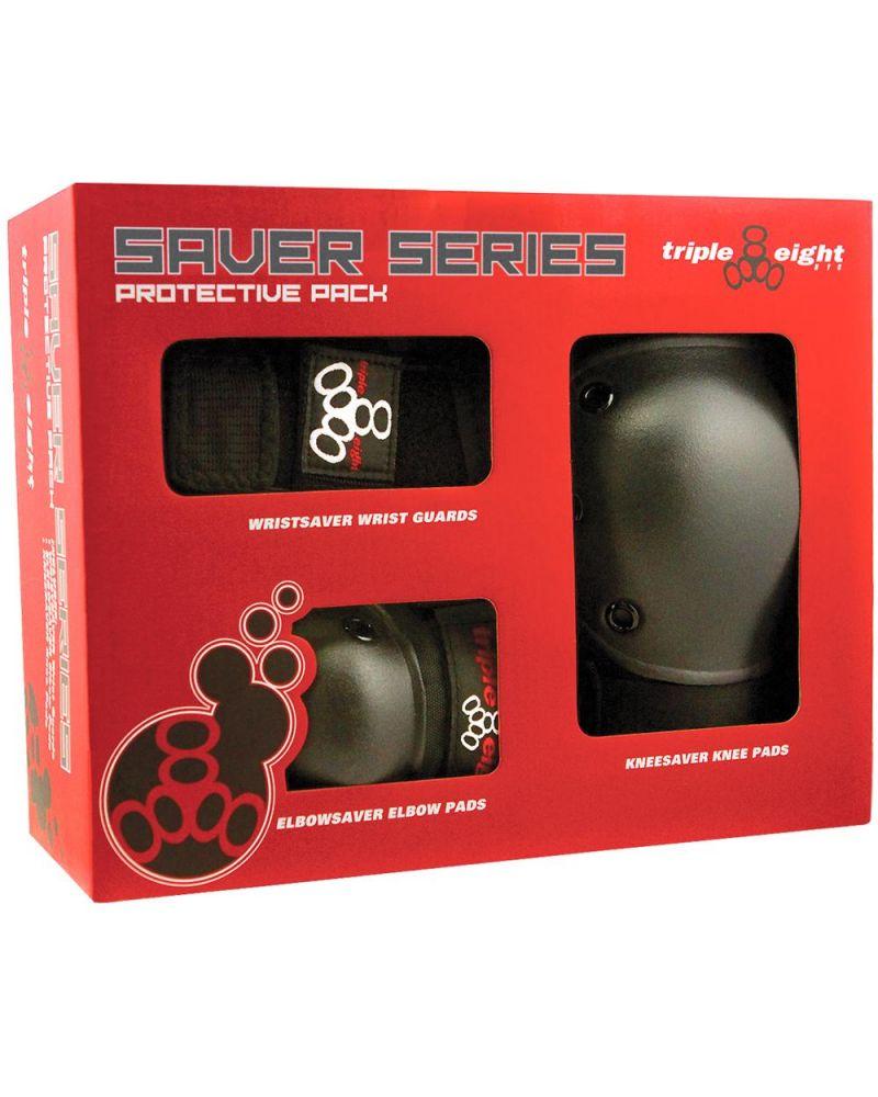 Saver Series High Impact 3-Pack - ADULT BLACK