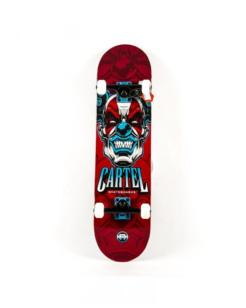 CARTEL SKATE BOARD This Red 8.00