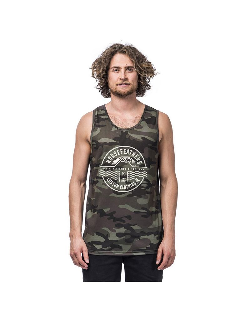 VALE TANK TOP woodland
