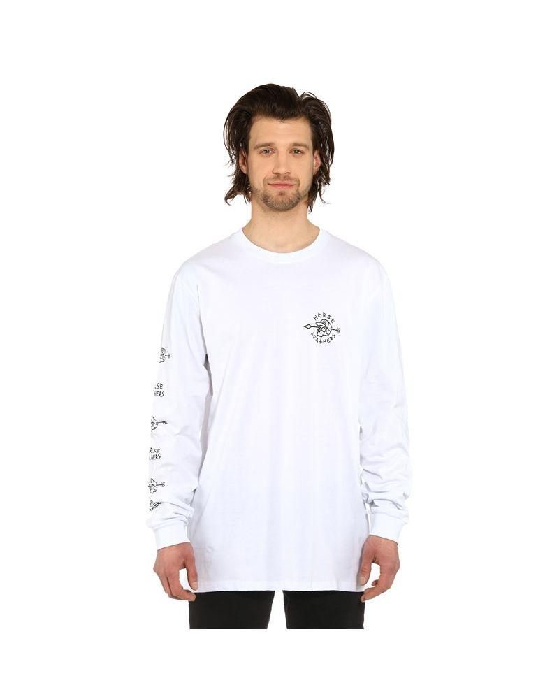 SHAFT LS T-SHIRT white