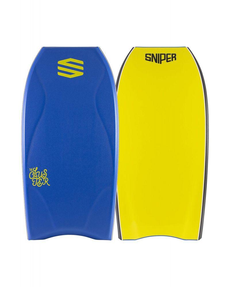 """Bodyboard Cluster PE Blue Yellow 45"""""""