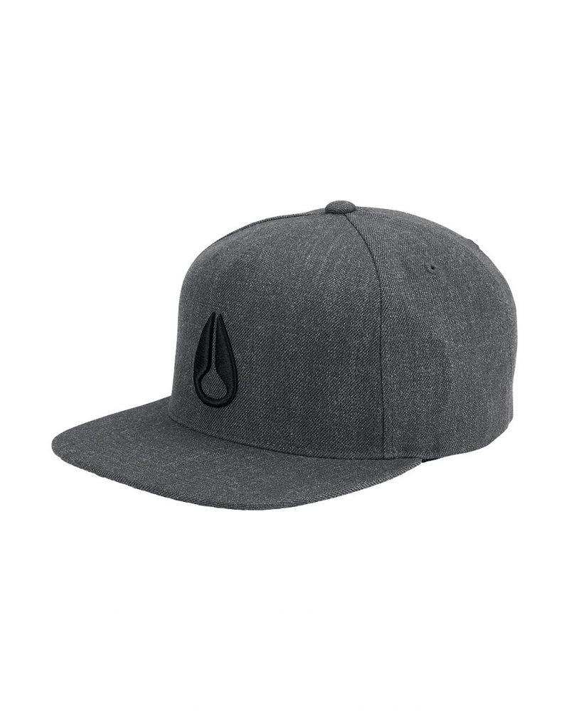 Simon Snap Back Hat Dark Gray Heather