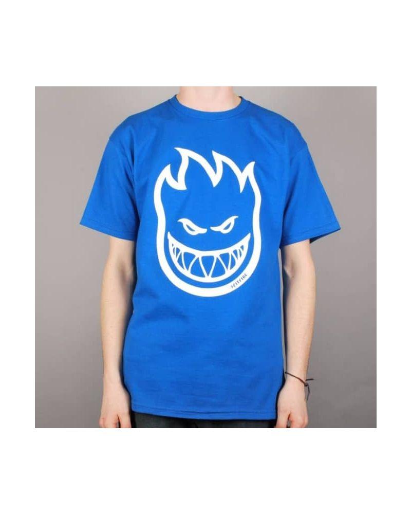 BIGHEAD S/S T-Shirt ROYAL w/ WHITE-детска тениска