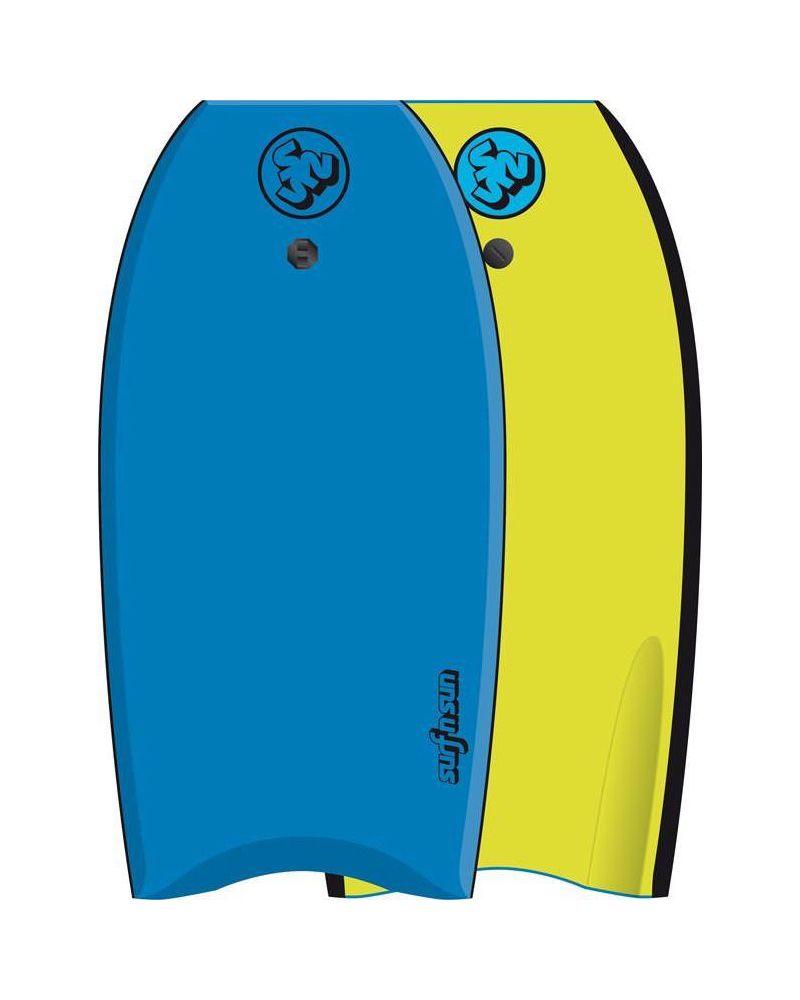 "Bodyboard Similar Blue-Yellow 41"""