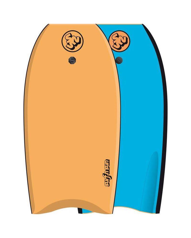 """39"""" Bodyboard Similar Orange Blue"""