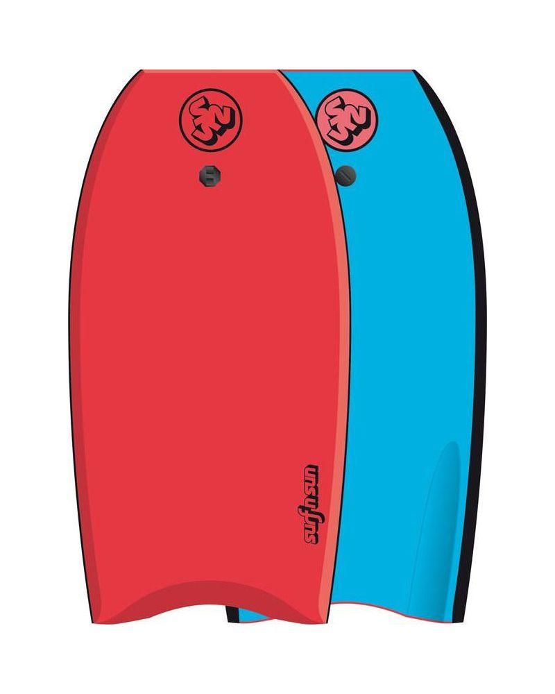 "42"" Bodyboard Similar Red-Blue"