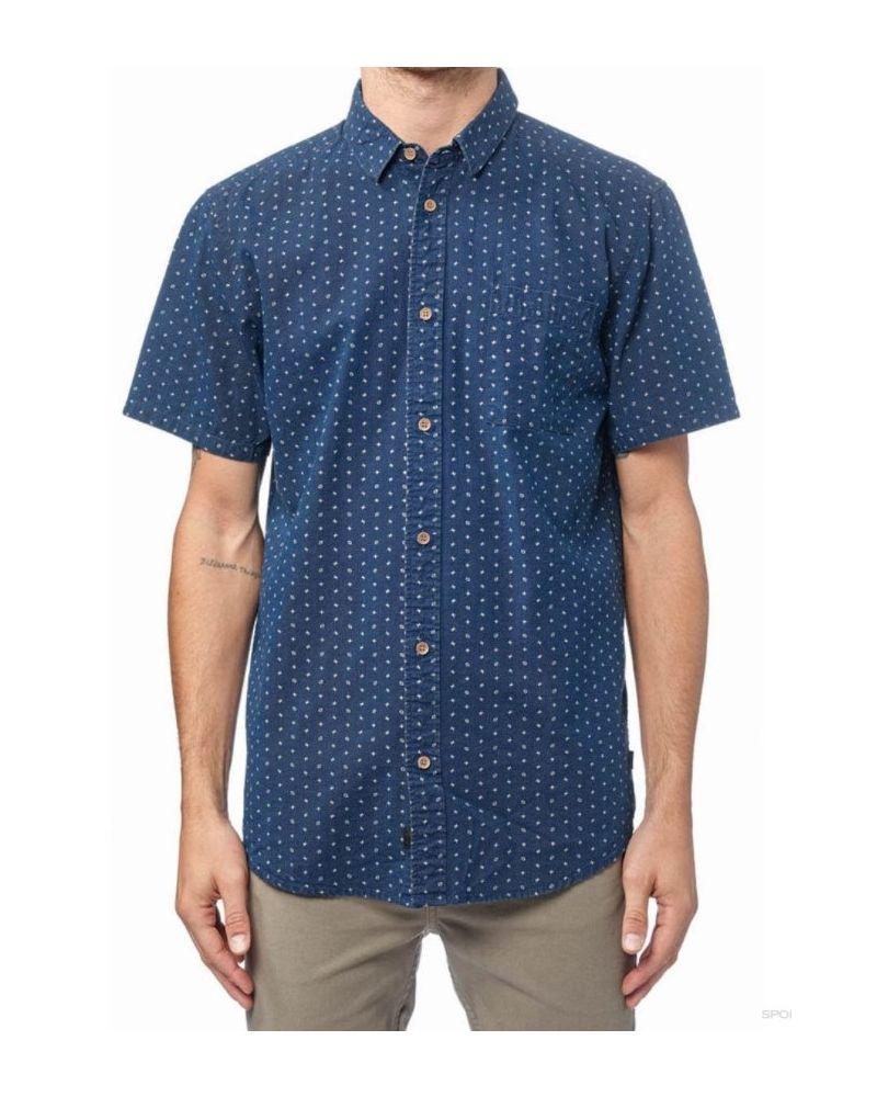 Shallow SS Shirt - Indigo
