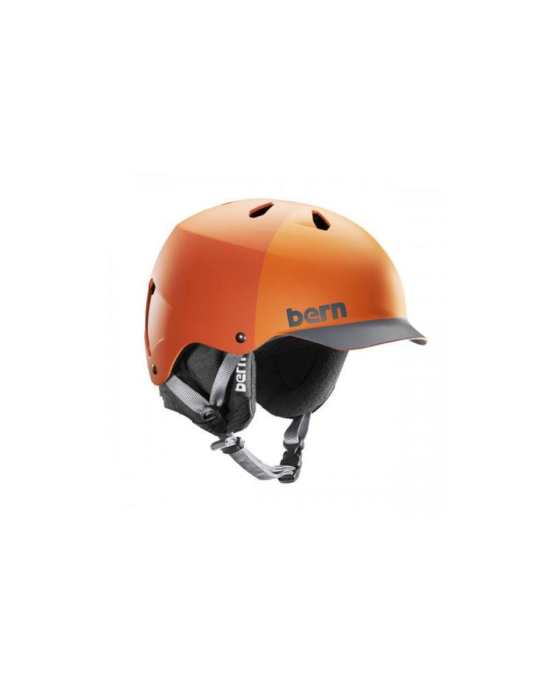 BERN WATTS - EPS Matte Orange Hatstyle