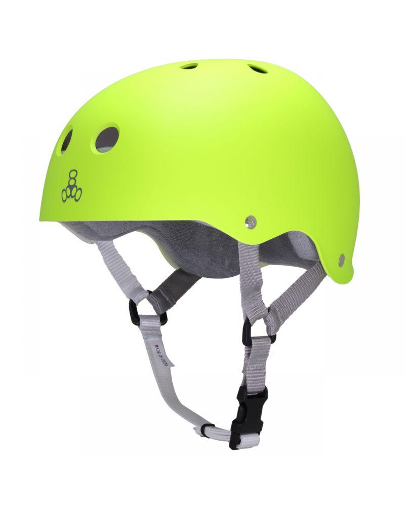 Zest Rubber Helmet Neon